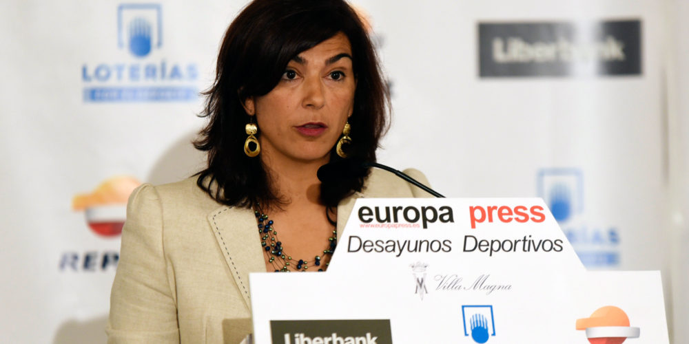 Maria Jose Rienda Europa Press