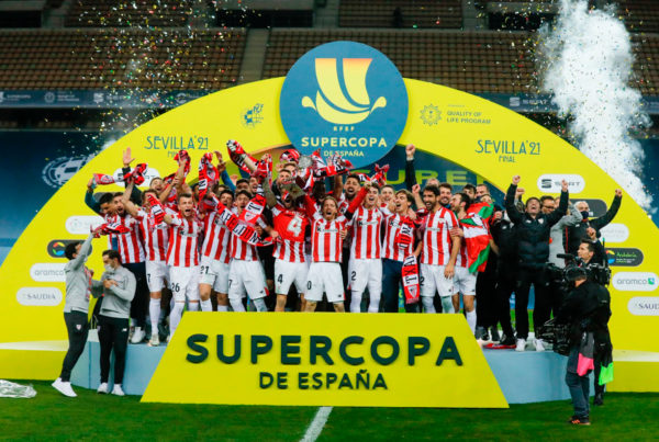 Athletic campeon supercopa europa periodistas deportivos